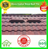 excellent fire resistance colorful stone coated metal roofing sheet
