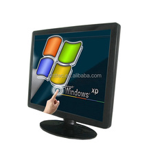 Desktop 32 inch LCD Touch Monitor with VGA/DVI/usb for POS system