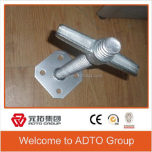 Adjustable Solid U-head Jack Base 38*400mm for Ring Lock Scaffold Shoring System