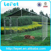 dog box kennel/galvanized steel dog kennel/dog kennel panels