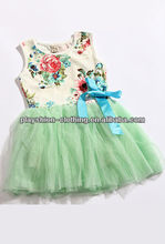 Baby Clothes Girls Party Dress With Flower