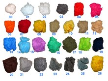 polyester staple fiber color dope dyed Vrigin type