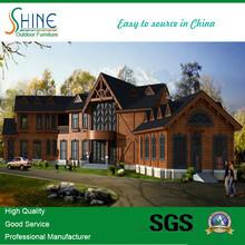 Super Luxury Large Prefabricated Wooden Modern House M315926