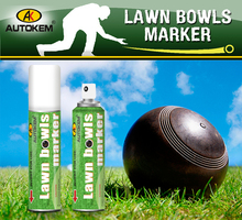 New Arrival Lawn Bowls marker,marking paint for bowls aerosol spray
