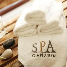 customized logo glass shower door towel bars disposable hair salon towel, women sexy robe