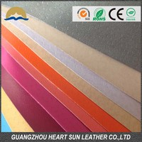 100% folia pu leather material to make shoe lining (Cuero sintetico para forro de calzado)