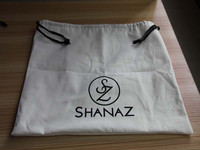 top quality soft cloth drawstring bag with personalised design accepted