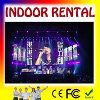 Fashion full color indoor P6 led rental board: pantalla de interior para decoracion de escenarios, publicidad o video, rentar