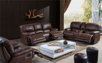 Living Room Sofa Specific Use and Genuine Leather Material lazy boy leather recliner sofa