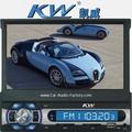 solo din pantalla retráctil de 7 pulgadas DVD KV-573