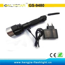 aluminum xml q5 230lm hunting lights green,emergency light with 18650 battery