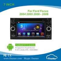 """Finenav 7"""" Android 4.2.2 Car GPS Navi for Ford Focus 2004-2008 with Gps Navi,3G,Wifi,Bluetooth,Ipod etc. with Black Color"""