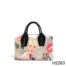 H2263 The designer inspired fashion girl bag lady handbag