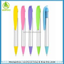 Top selling personalised plastic pens for promotion