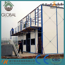 best price modular prefabricated sandwich panel container house for dormitory