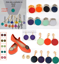 Soft enamel disc jewelry perfect for monogramming