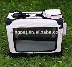 pet product new design foldable pet carrier folding fabric dog crate