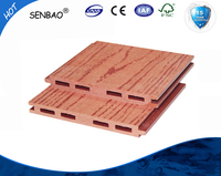 decorative wood plastic composited wall panel, wpc