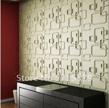 embossed design interior wall decoration wallpaper with natural bamboo material