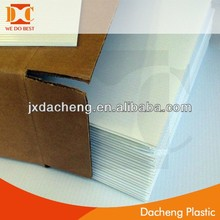 construction board material/plastic advertising board/ightweight construction materials