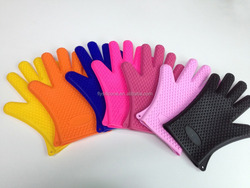 New products private label Heat resistant oven mitts silicon