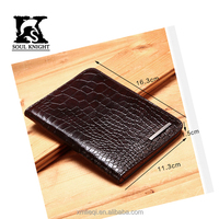SK-7002 popular fashion rfid leather credit case for men
