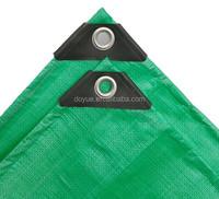 Raw material fire resistant pe tarpaulin canvas