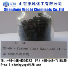 Silane coupling agent Si69C Mixture of bis - (3-triethoxysilylpropyl)-tetrasulfide (50%) and Carbon black (50%)