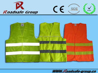 Road safety product jacket with reflector