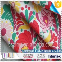 Wholesale 100%Cotton Print Twill Fabric For Garments Print Cotton Fabric Of Women Clothing
