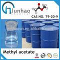 De alta pureza de acetato de metilo 99.5% amoniocas 79-20-9