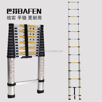"12.5"" Aluminum Telescopic/Telescoping Loft Ladder Extension Extendable Portable"