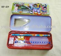 3 layer metal pencil cases