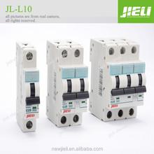 6KA 10KA high Breaking Capacity 230V/380V 1p 2p 3p 4p mcb