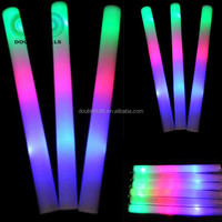 light up party cheering foam sticks,light up led flashing light stick