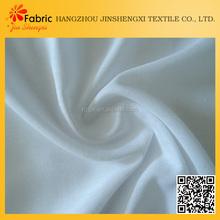 2015 Fashion plain pure white chiffon fabric rolls