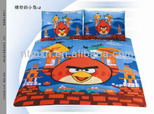 Cartoon Kids Twin Size Bedding Sheet Comforter Set Twin 2pc Bedsheet Set Single Bedding