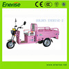 500W,48V Colorized Electric Tricycle,Adult Style,3 Wheel Electric Bike,Electric Bicycle for Passenger and Cargo Loading