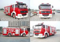 Styre double bridge fire fighting truck(12T water tank)