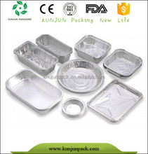 F5510 Heat retaining disposable aluminium food packaging
