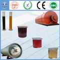 Proyecto de energía renovable de China Equipos para la recogida de destilado de aceite de motor a diesel