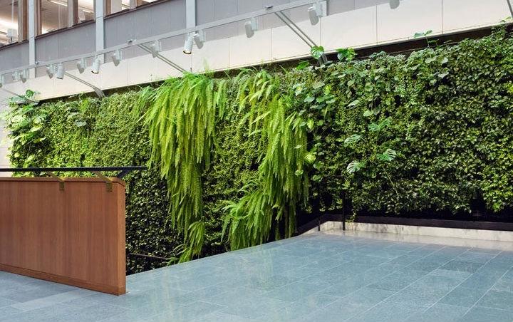 Plante artificielle mur en haute qualit avec la basse for Plantes artificielles pour exterieur