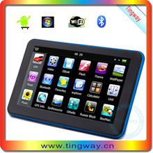 """Portable Android Car Gps Navigation 7"""" Android Gps Navig With Gsm Locating T-703-A"""