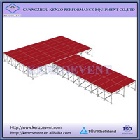 Metal Cheap Portable Stage Design for Events
