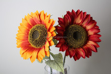 Natural Fake Sunflowers Artificial Flowers Decorative sunlflowers Plants