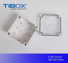 hinged ip66 waterproof plastic enclosure box/molded plastic electronic enclosure