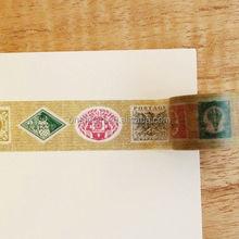 Custom Removable MASTE MULTI Stamp laptop/wall decoration stickers/washi tape/masking tape