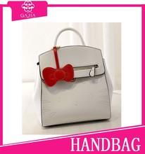 Hello kitty falp bow lovely fashion online sell top 10 handbags PU cute waterproof bag