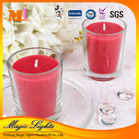 Factory Price Scented Glass Memorial Candle