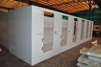 Prefab refrigerator chiller walk in cooler room/walk in freezer with solar power